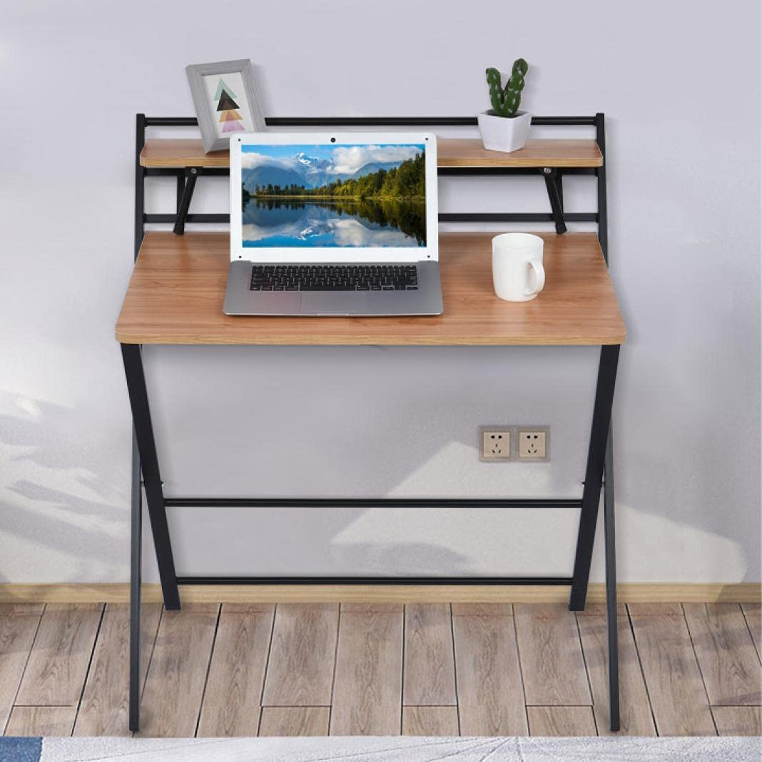 DSVF Folding List price Small Computer Desk- gift Symylife Space Writing Saving