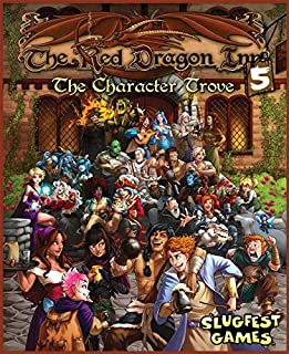 Slugfest Games The Red Dragon Inn 5: The Character Trove Strategy Boxed Board Game Ages 12 & Up