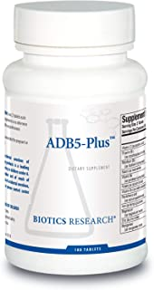 ADB5 Plus™ Adrenal Support Supplement by Biotics Research 180 Tablets