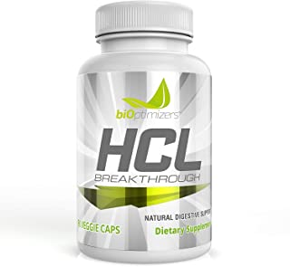 HCL Breakthrough - Acid Reflux Supplement - Natural Source of Betaine Hydrochloride (HCI) - Provides Heartb...
