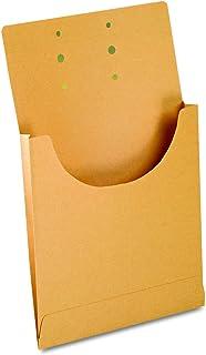 Pendaflex J044 Expandable Retention Jackets, Legal/Letter, Kraft Brown (Box of 100)