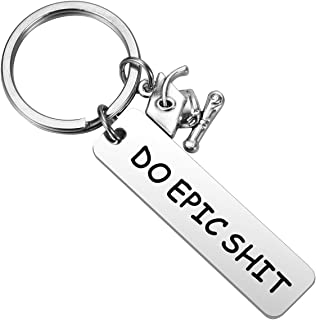 JCvCX Anime Role Todoroki Shoto Keychain Boku No Hero My Hero Academia Keychains Deku Keyring Dual Sides Acrylic Key Ring Key Tag