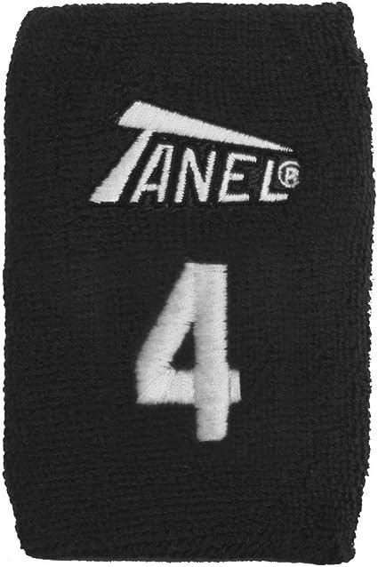 White #25 Tanel 360 Custom Baseball//Softball Wristbands