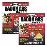 Radon Gas Test Kit (Pack of 2)
