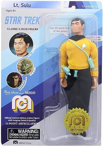 mejor opcion Star Trek Trek Trek Mego Sulu Action Figure 8   de moda