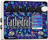 electro-harmonix Cathedral Cathedral Pedal - Pedal de efecto eco/delay/reverb para guitarra, color...