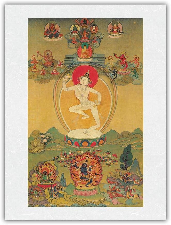 The Wisdom Dakini Phoenix Mall Super sale - Tibetan Yogini Labdrön Machig 1055-1153