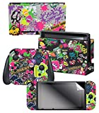 Controller Gear Nintendo Switch Skin & Screen Protector Set, Officially Licensed By Nintendo - Splatoon 2...