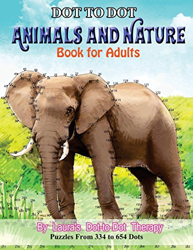 Dot to Dot Animals and Nature Bo...