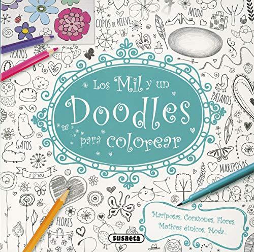 Los mil y un doodles para colorear