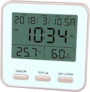 XYXZ Termómetro De Habitación Higrómetro Digital Interior Al Aire Libre Higrómetro De Habitación Monitor De Temperatura Re...