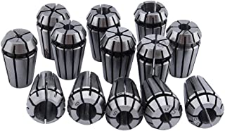 ZJchao 13 Pcs ER11 1-7mm Spring Collet Set Chuck Collet for CNC Engraving Machine & Milling Lathe Tool