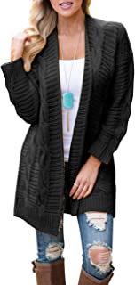 Best heavy cable knit cardigan sweater Reviews