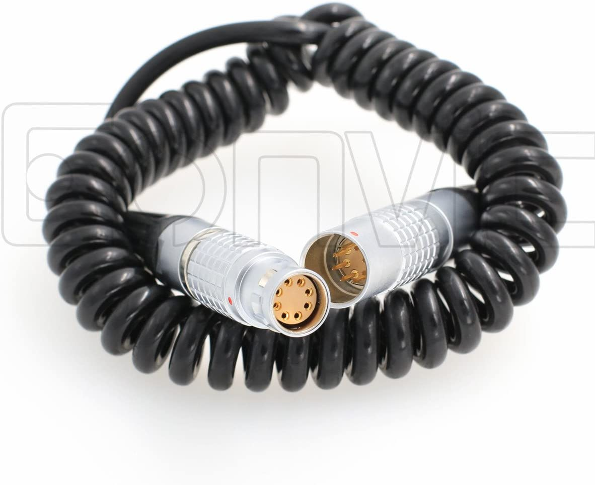 Max Over item handling ☆ 63% OFF Eonvic ARRI Alexa Mini Coiled Power Cable to Female Ma Extension