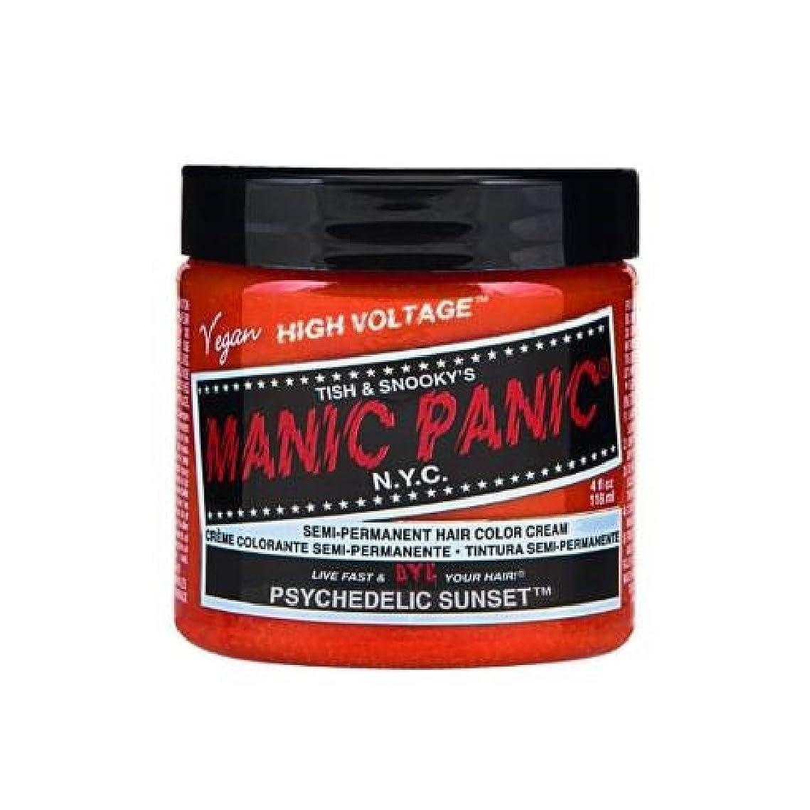 トランペットコートリズムMANIC PANIC マニックパニック 118ml Psychedelic Sunset サイケデリックサンセット MC11044