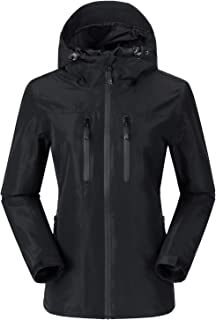 Women's Lightweight Rain Jacket Waterproof Windbreaker...