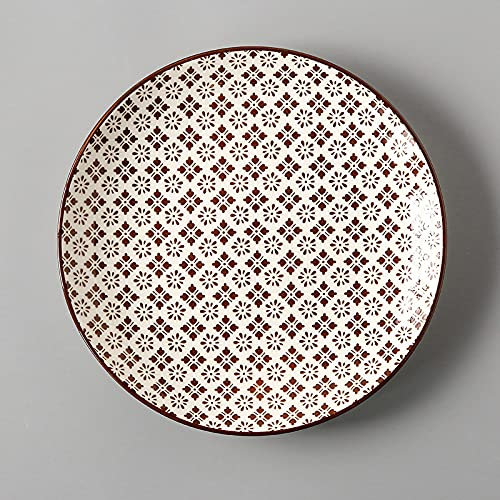 mönomöro Servicio de mesa de 26,7 cm (4,J), cuencos de cerámica y porcelana, platos de postre, platos, cuencos y vasos a elegir