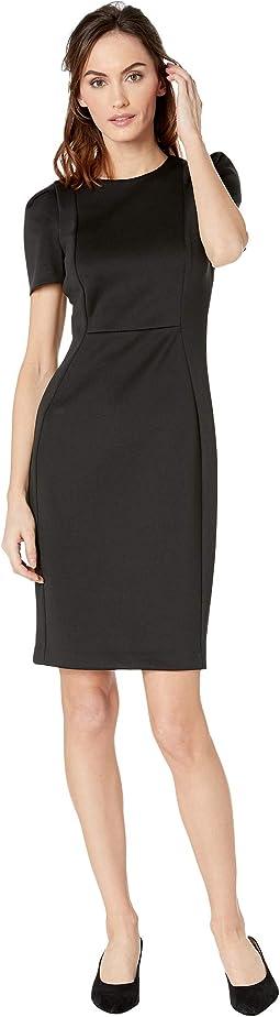 Short Sleeve Sheath Dress CD8M19JL