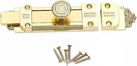 Deurgrendel Vintage Deur Latch Zinklegering Sliding Lock Latch Barrel Bolt Brons voor huishoudelijke meubels Geschikt voor...