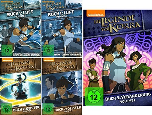 Buch 1-3.1 (5 DVDs)