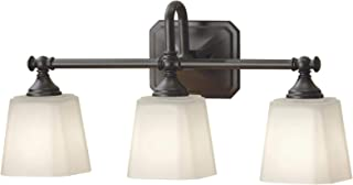Feiss VS19713ORB Concord Glass Wall Vanity Bath Lighting, Bronze, 3-Light (21