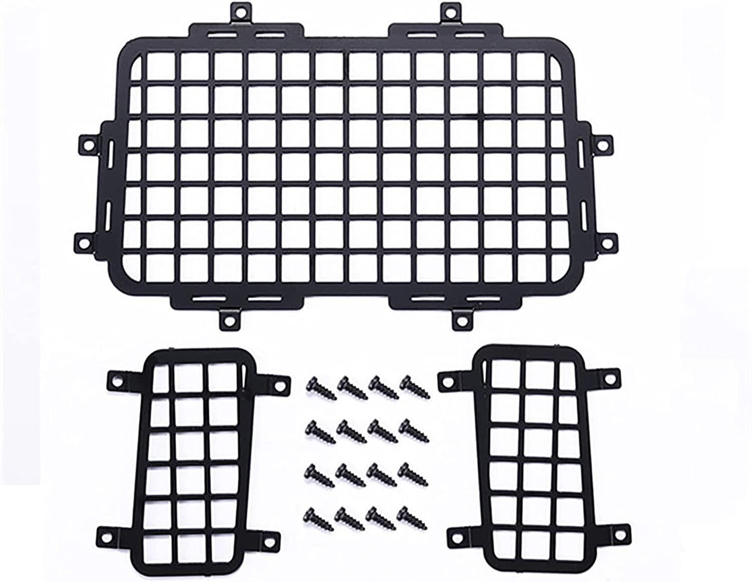 SHEAWA Stainless Steel Car Rear Window Mesh DIY Accessories for