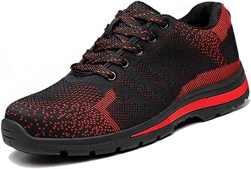 ZYFXZ Bottes de Travail Chaussures Chaussures de Travail et de Travail légères et Confortables pour Hommes et Femmes Bottes de sécurité (Taille   40)  pour vous offrir un shopping en ligne agréable