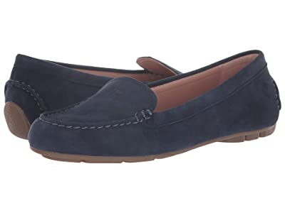 Taryn Rose Karen Weatherproof (Midnight Silky Suede) Women