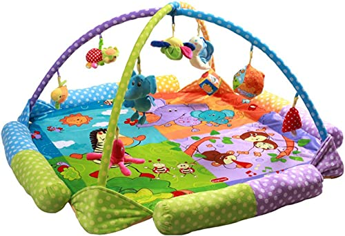 HaoLiao Babydecke, Babyspieldecke, Spielmatte Größe superWeißhe Stoff Krabbeldecke, Krabbelmatte Spielzeug