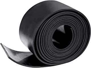 Rubber Gasket Sheet Material 1/8 (.125) Inch T X 3 inch W X 10 Feet, for Sealing,Protection, Abrasion, Supports, Leveling, Bumpers