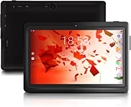 TOPELOTEK 7 Inch Tablet PC 1GB RAM 8GB Storage Google Android 6.0 Tablet 800x1280 IPS Touchscreen with Dual Camera Quad Core Bluetooth 4.0