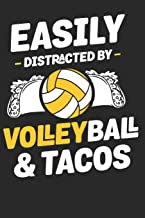 Easily Distracted by Volleyball: Volleyball Paperback Journal, Composition Book College Wide Ruled, Gift for Coach, Teen, Girls, Boys, Player. Ideal ... Gift for Mother's day, Birthday, Anniversary