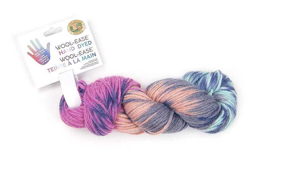 Lion Brand Yarn 623-208 Wool-Ease Hand Dyed Yarn, Lavender Honey