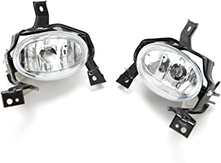 LEDIN For 2010 2011 Honda CR-V CRV Clear Fog Driving Lights Replacement w/Switch Bulbs Wiring