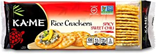Ka-Me Gluten Free Rice Crackers, Spicy Sweet Chili, 3.5 Ounce (Pack of 12)