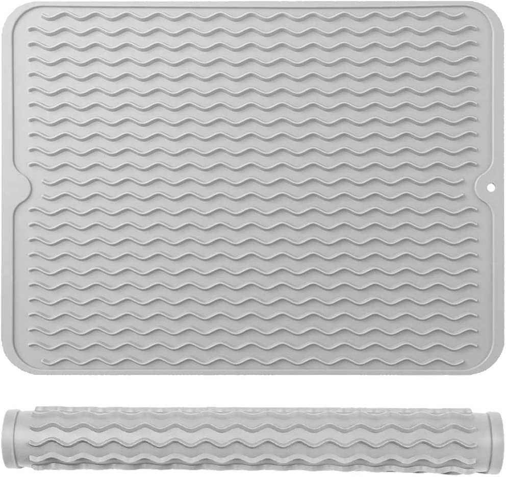Metopets Silicone Dish 5% OFF Drying Mat for Bar Sale special price Kitchen Sink Counter