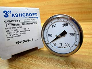 ashcroft thermometers
