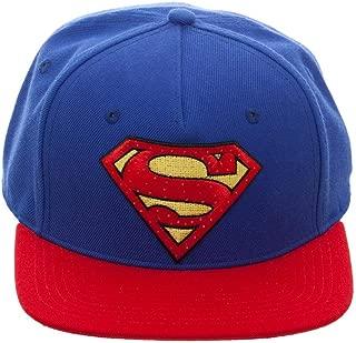 DC Comics Superman Snapback Hat with Illuminating Logo