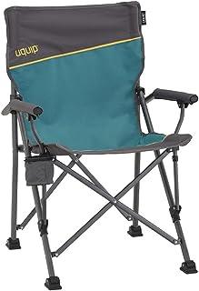 Uquip Roxy - Silla de Camping con portabotellas - Estructura Estable de hasta 120 kg
