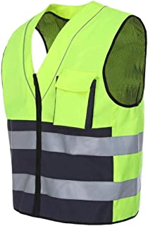 Reflective vests High Visibility Vest Safety Vest, Reflective Safety Vest Lightweight And Breathable Night Uniform Workwea...