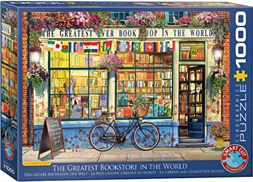 EuroGraphics (EURHR The Greatest Bookstore in The World 1000Piece Puzzle 1000Piece Jigsaw Puzzle