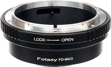 Fotasy Canon FD Lens to M4/3 Adapter, FD MFT Mount Adaptor, fits Olympus E-PL8 E-PL9 E-M1 E-M5 E-M10 I II III E-PM2 E-PM1 ...
