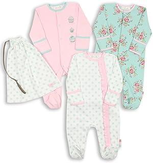 The Essential One - Pijama para bebé - Paquete de 3-0-3 Meses ESS75