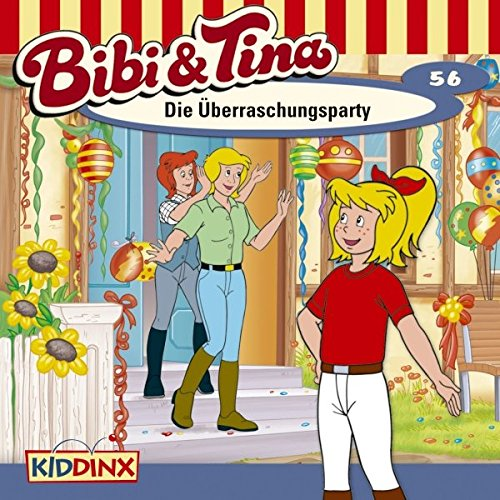 Die Überraschungsparty audiobook cover art
