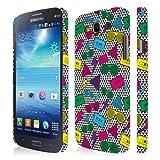 Samsung Galaxy Mega 5.8 Case, Empire Signature Series One Piece Slim-Fit Case for Samsung Galaxy Mega 5.8 I9152 / I9150 - Neon 90's