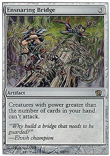 diseñador en linea Magic  the Gathering - Ensnaring Bridge Bridge Bridge - Eighth Edition by Magic  the Gathering  respuestas rápidas