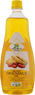 24 Mantara 24 Mantra Organic Peanut Oil - 33.81 Ounce ,, ()