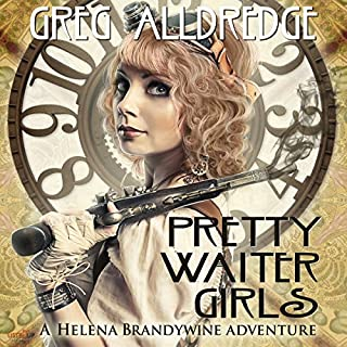 Pretty Waiter Girls audiobook cover art
