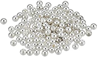 Beadalon 144-Piece 3-MM Round Memory Wire End Cap, Silver Plate