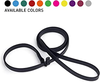 Dogline Biothane Slip Dog Leash - for Small, Medium and Large Dogs - Odor Free Slip Lead, Heavy Duty and Durable Material ...